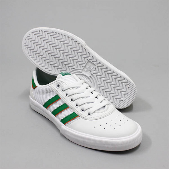 Adidas Shoes Lucas Premiere ADV White Green White Originals Skateboard Sneakers free post usa size