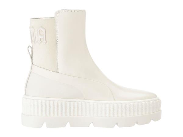 9015aedbba0c ... Puma x Rihanna FENTY Chelsea Sneaker Boot. Style  366266-02. Color   White Gender  Womens