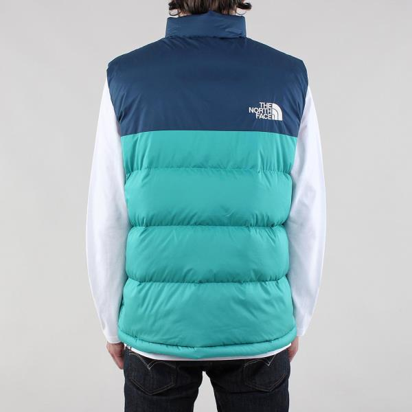 5c367cee3935 The North Face Men s 1992 Nuptse Insulated Vest Porcelain Green Blue ...