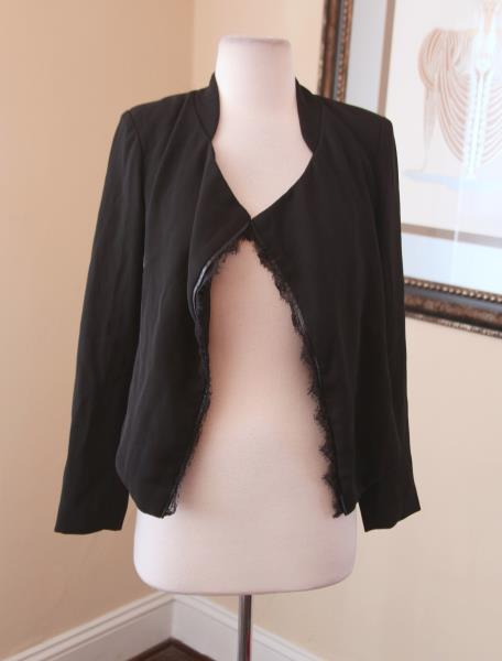 draped abstract print drapes product contemporary forever brown lyst normal taupenavy blazer in clothing