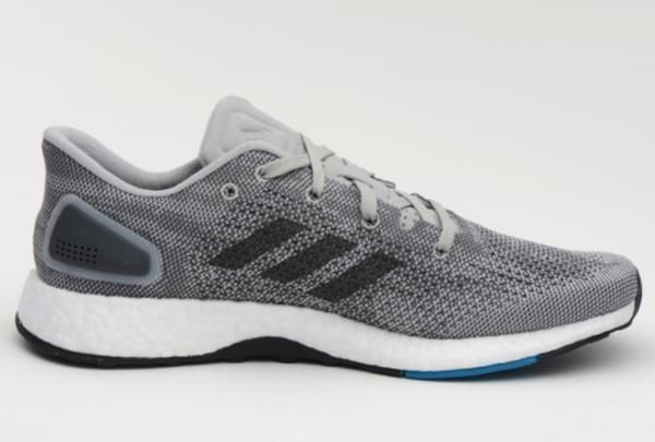 41ddd7aa52af3 Adidas Men Pure Boost DPR Training Shoes Gray Blue Running Sneakers ...