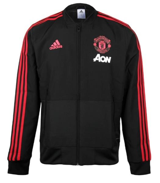 new products 6dc17 bf5dd Details about Adidas Men Manchester United FC Jacket Soccer Running MUFC  Shirts Jackets CW7628