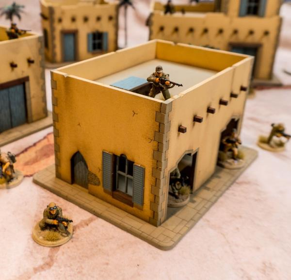 Details about 28mm Middle Eastern Building - 28MMDF094